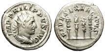 Ancient Coins - PHILIP I.  AD 246-249 ANTONINIANUS, ANTIOCHIA. INTERESTING REVERSE.