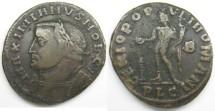Ancient Coins - Galerius: AE Folles, Lugdenum mint, Genius reverse