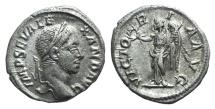 Ancient Coins - Severus Alexander (222-235). AR Denarius. Rome, 231. R/ Victory