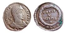 Ancient Coins - Julianus AR siliqua. 355-363 AD. Lugdunum. PLVG. RIC 233