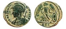 Ancient Coins - Constantinopolis follis. Rome. RBe.