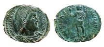 Ancient Coins - Magnentius AE2 Trier. 350 AD. FELICITAS.REIPVBLICE. A / TRP.